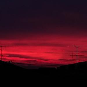 綱島 夕陽 点描