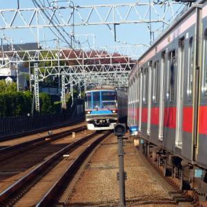 東急東横線 多摩川駅 点描