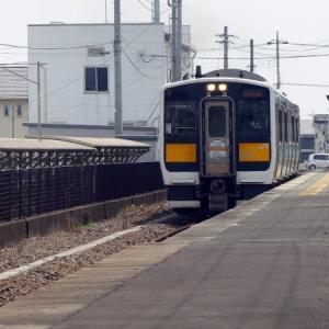JR 水郡線 上菅谷駅 点描