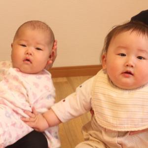 赤ちゃん同士もかんさつしてると思うんです!!【ベビーマッサージ:久我山】