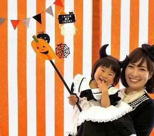 赤ちゃんとママが撮影できちゃう、プチ撮影ブース作っちゃいますよ~【ハロウィンイベント】