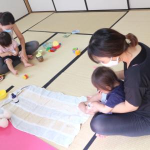 1歳の赤ちゃんからリクエストいただき開催します【歩けるようになった赤ちゃんクラスベビーマッサージ
