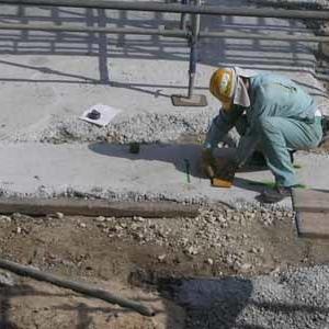 基礎工事を終了