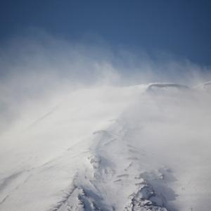 富嶽、冬嵐
