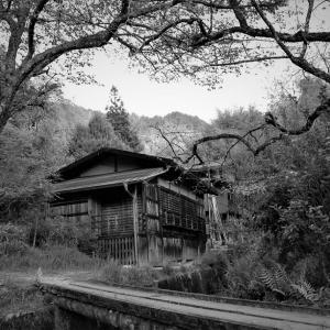 妻籠宿、橋の家