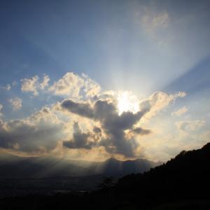 天使の梯子、薄明光線