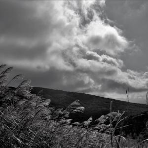 光芒の稜線、富士北麓