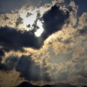 光芒、天使の梯子
