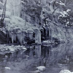 垂氷の鏡、氷瀑の冬