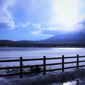 山遊雑談:富士北麓、冬道リアル