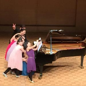 ピアノアンサンブル『パレット』コンサート