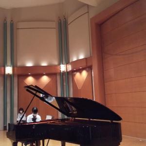 秋篠音楽堂でホ―ル練習ができます☺️