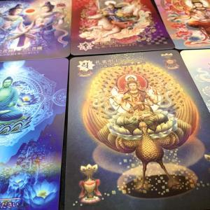 日本の密教カード・表面加工について。