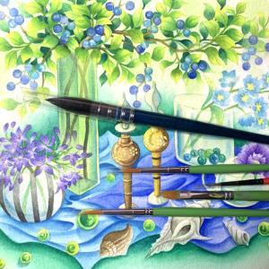 「水彩画におすすめの筆・初心者に使いやすい筆はこの4つ」