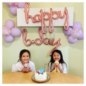 9才の誕生日