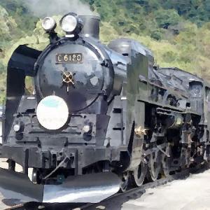■水上駅到着の「蒸気機関車C61」は迫力満点! ~ 2020ハルヒルオヤジ隊が行く!「水上SLライド:後編」《10月》~