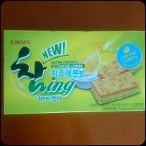 韓国クラッカー レモン&チーズ