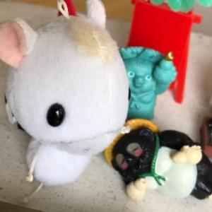 子ウマのハヤテオーと、ツル丸さん〜、あ〜そ〜ぼ〜