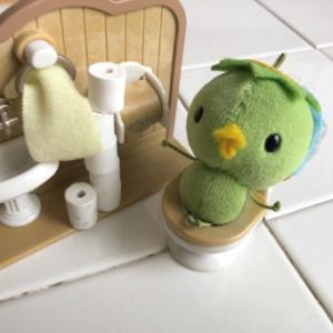 カッパのコタロウと、『おトイレ』の『じかん』