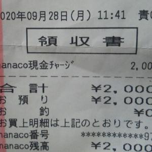 nanacoふたたび