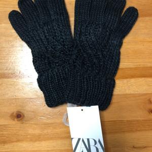 ZARAで手袋購入
