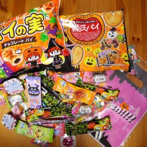 ハロウィンパーティーのお菓子の詰め合わせ