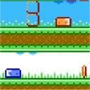 スライムのブロック切り替えアクションゲーム「Mini Push」
