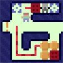 ブロックどかしパズルゲーム「Mac & CHI」