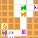 歩数制限のある猫のパズルゲーム「N Step Steve: part 1」