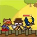 4匹の子猫のランニングアクションゲーム「StrikeForce Kitty」