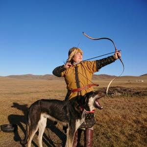 今日は犬の日 草原の風「ムサ」 もうすぐ生後10か月