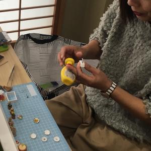 ミニチュアカフェ教室最終日