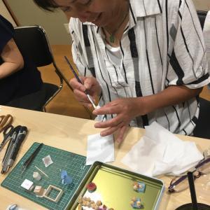 ミニチュアカフェ第3回目chocola-ta教室