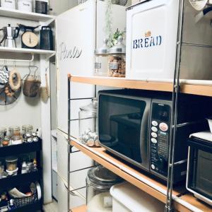 キッチンのストック収納