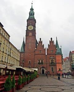 明るいポーランド 17 ヴロツワフ旧市庁舎