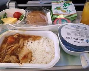 モンゴル行き大韓航空の機内サービスと映画
