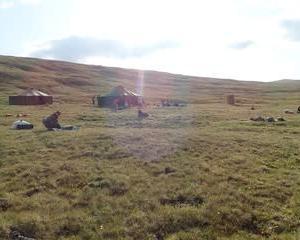 西モンゴルの旅 8 トレッキング3日目