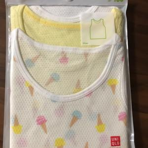 2歳10ヶ月買い物14UNIQLOでセール肌着買う!