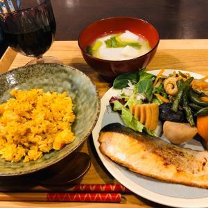 昨日の晩ご飯は野菜いっぱいです