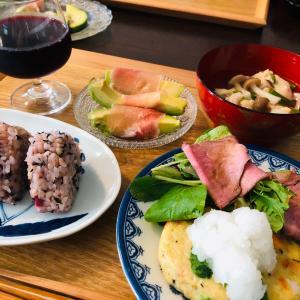 今日の晩ご飯は豆腐のハンバーグ