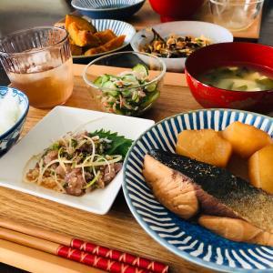 今日の晩ご飯は和食です