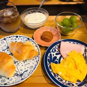しっかり朝食