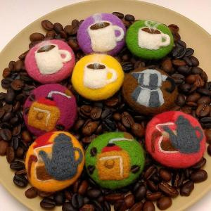 サンプル制作とコーヒー