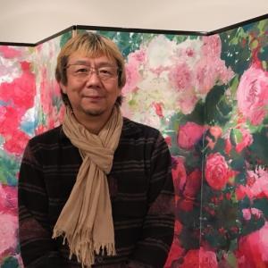 平野俊一『薔薇の園』