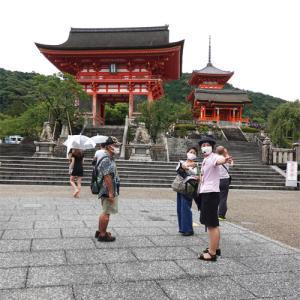 旅の最後は清水寺と三十三間堂