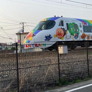 アンパンマン列車が行くよ