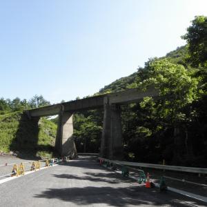 岩泉線-4:押角駅跡入口と宇津野駅跡付近