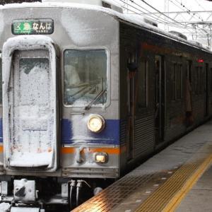 白い南海電車