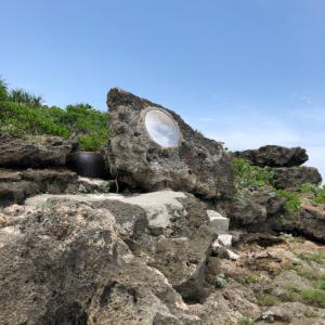 2019年5月2日・海岸の不思議な鏡