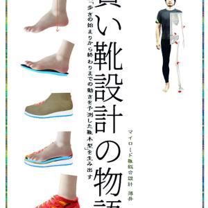 この度、本を書きました。「賢い靴設計の物語」